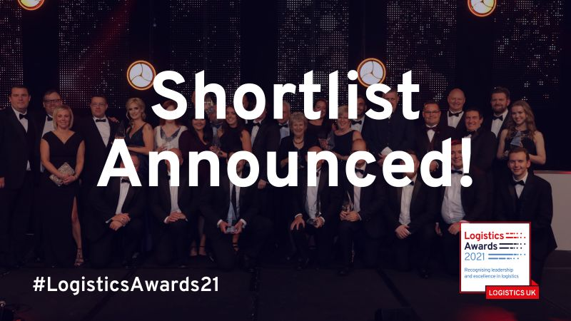 AEB among the finalists for LogisticsAwards21