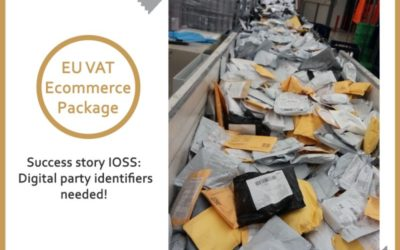 Success story IOSS: Digital party identifiers needed