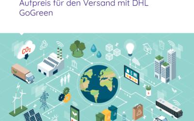 DHL GoGreen: shipcloud übernimmt den Aufpreis für den Versand mit DHL GoGreen