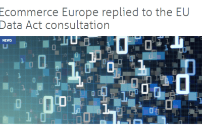 Ecommerce Europe replied to the EU Data Act consultation