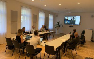 "Sitzung des Arbeitsgremiums ""Logistic Natives meet Intralogistics"" im Handelsverband"