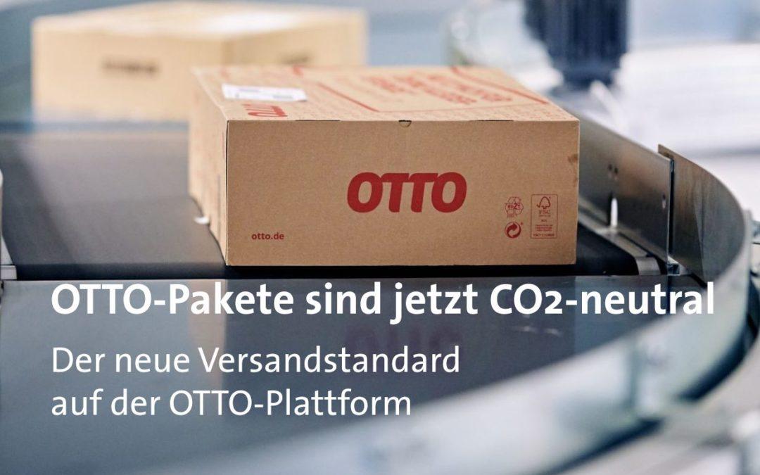 OTTO-Pakete sind jetzt CO²-neutral